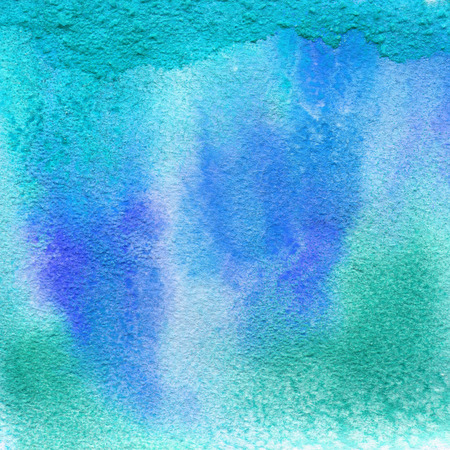 tract: Bright painted watercolor texture. Hand drawn background with text place.