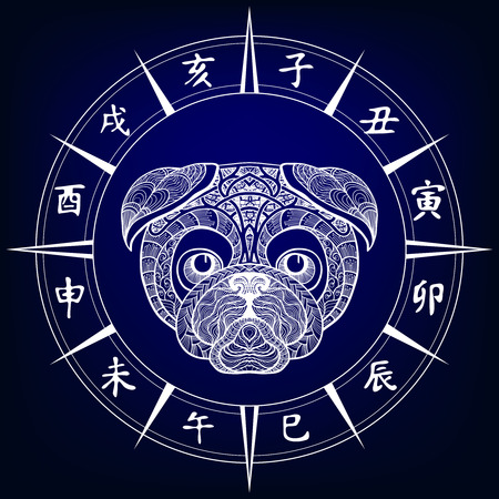 Dog. Chinese horoscope sign