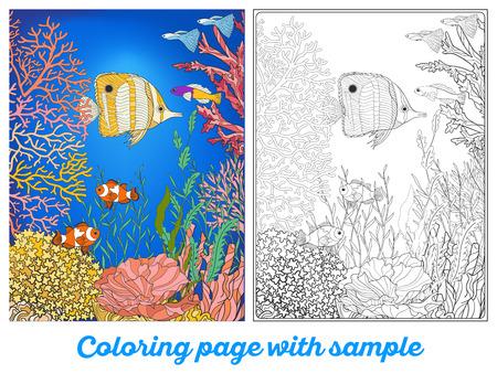 Arrecifes Para Colorear