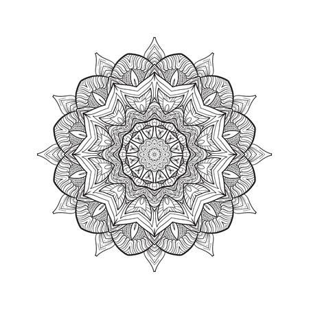 Deco Mandala, Diseño Modelado Del Elemento, Amuleto étnico. Lucha ...