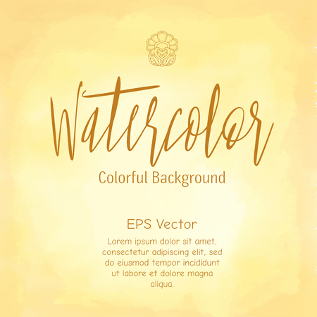 watercolour background: Abstract watercolor background. Colourful template. vector background. drawn watercolor textures. Stock  illustration.