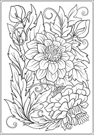 Patrón Floral. Flor De Fondo. Diseño Floral Con Flores. Lucha Contra ...