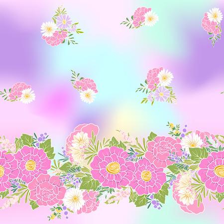 シームレス花柄