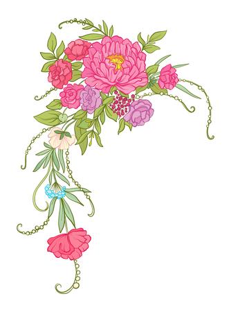 Bouquet of flowers. Imagens - 81963608