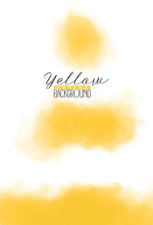 Résumé exploser fond aquarelle colorée dans la couleur jaune. peinture de couleur. conception vectorielle Banque d'images - 86422536