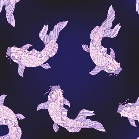 鯉パターン。