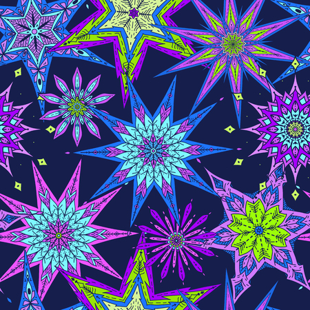 Decorative stars pattern.