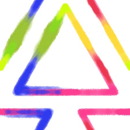 カラフルな幾何学模様。 写真素材 - 87528532