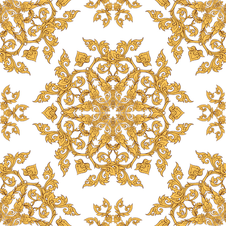 Seamless pattern, background of decorative elements of tradition Stock Vector - 106578656
