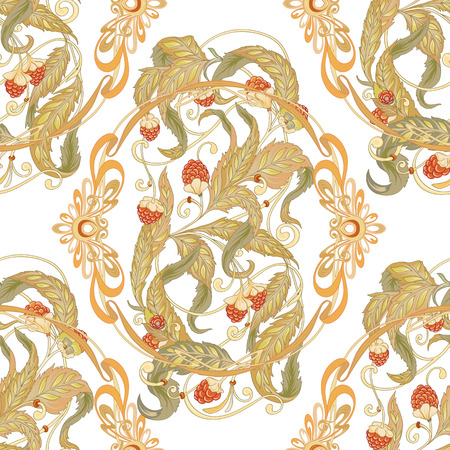 Seamless pattern with a set of different items, needs for SPA  or Thai massage Ilustracja