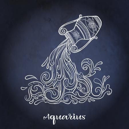 Signo del zodiaco. Colección de horóscopo astrológico. Ilustración vectorial Ilustración de vector