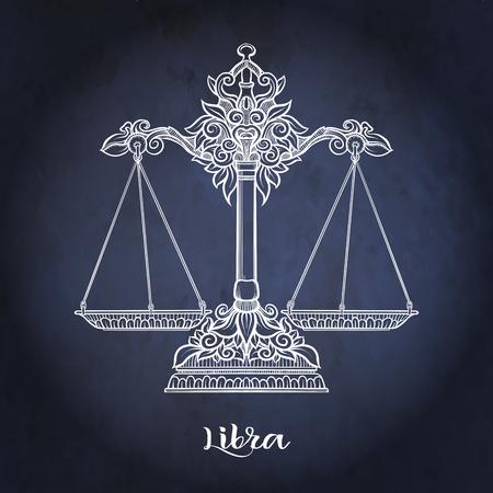 Znak zodiaku. Kolekcja horoskopów astrologicznych. Ilustracji wektorowych Ilustracje wektorowe