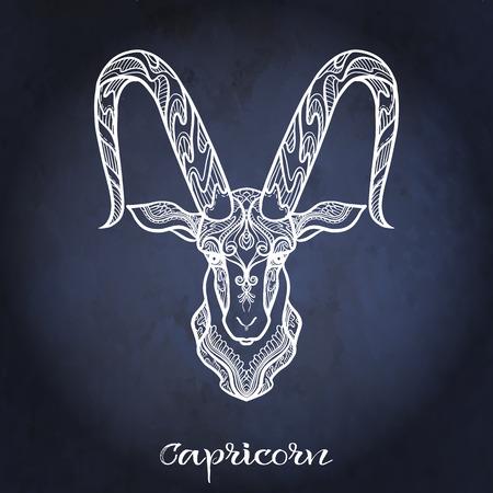 Segno zodiacale. Collezione di oroscopo astrologico. Illustrazione vettoriale