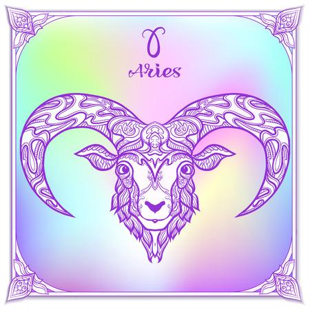 Znak zodiaku. Kolekcja horoskopów astrologicznych. Ilustracji wektorowych