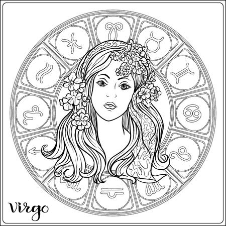 Sterrenbeeld. Astrologische horoscoopcollectie. Vector illustratie Vector Illustratie