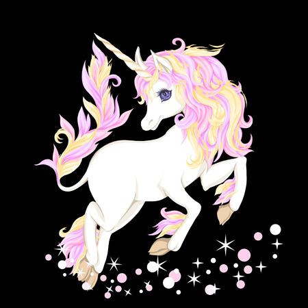Unicorn. Vector illustration. Archivio Fotografico - 107699144