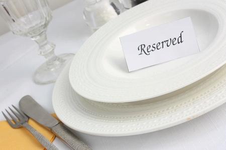 reservacion: Restaurante reserva de mesa