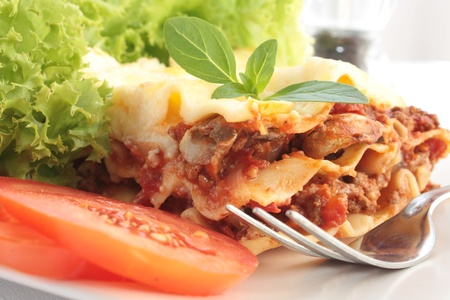 Lasagna Stock Photo - 11374472