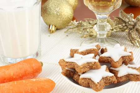 Snack for Santa Claus and Rudolf