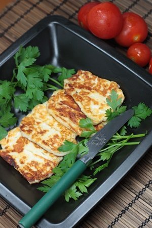 Halloumi Cheese Stock Photo - 11699304
