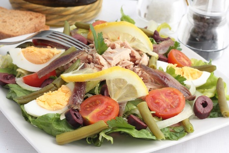 Nicoise Salad Stock Photo - 13007973
