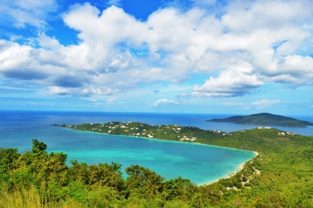 Magens Bay - famous beach in St Thomas