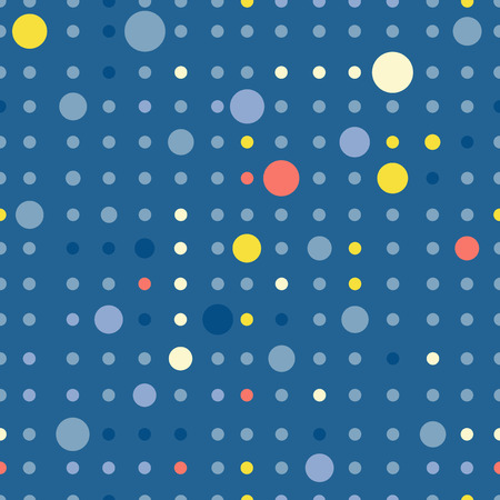 wall paper: Circle pattern. Modern stylish texture. Repeating dots round abstract background for wall paper. Flat minimalistic design. Illustration