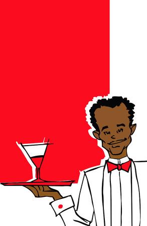 accomodation: job series - waiter