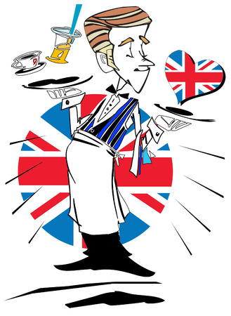 englishman: job series - waiter