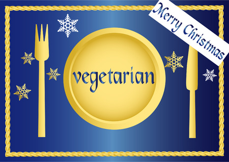 ailment: vegana  serie vegetariana - Navidad