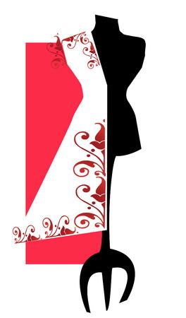 manikin: job series - dummy for tailor and dressmaker