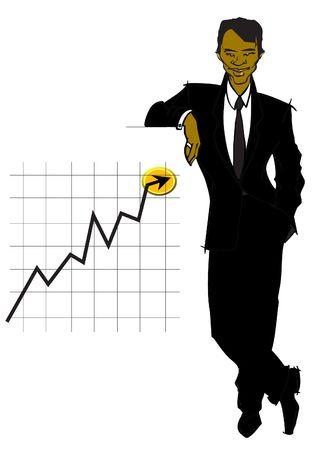 job series - businessman  photo