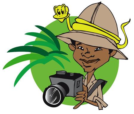 job series - photographer Vector