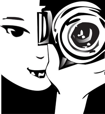 reflex camera: job series - photographer