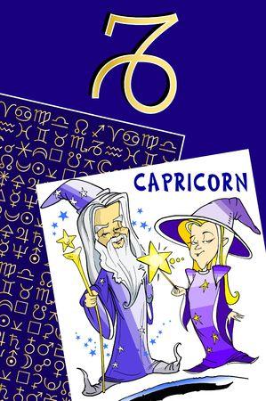 zodiac series - capricorn photo