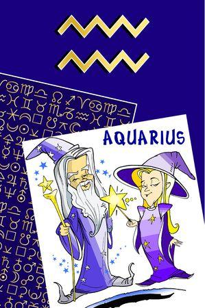 fisch: zodiac series - aquarius