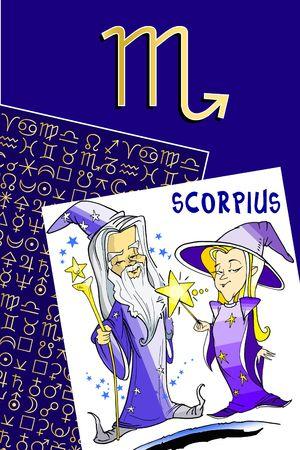 fisch: zodiac series - scorpius
