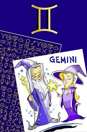 fisch: zodiac series - gemini