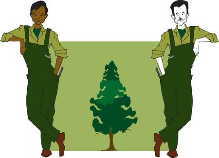 asian gardening: job series - forester