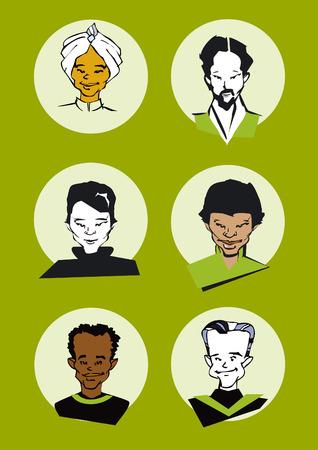 portrait series - men