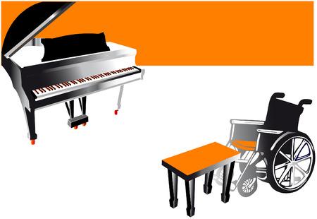 handicap series   music Vector