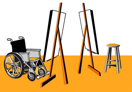 paraplegia: handicap series  relationship