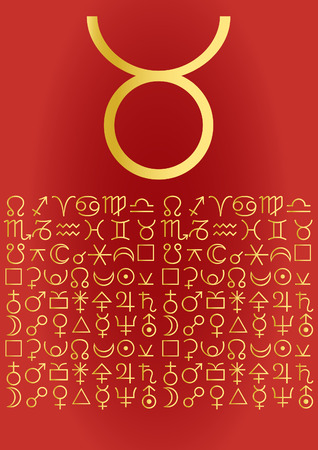 signes du zodiaque: Zodiac s�rie - Taurus