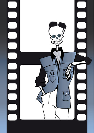pass away: death series - filmaker Illustration