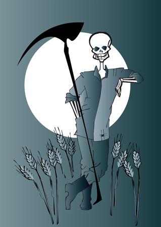 death series - farmer Vector