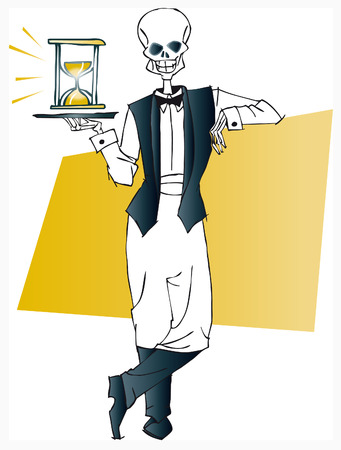 perish: death series - waiter Illustration
