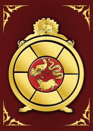 symbol series - samsara circle  Stock Photo - 3597821