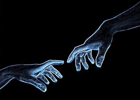 hand of god: symbol series - creator and creation