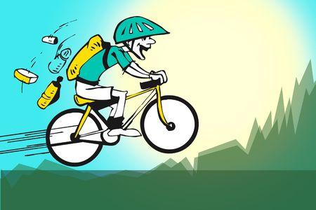 pink bike: sport series - byke or cycle