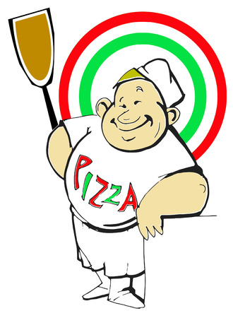 job series - Pizzaiolo Stock Vector - 4930092